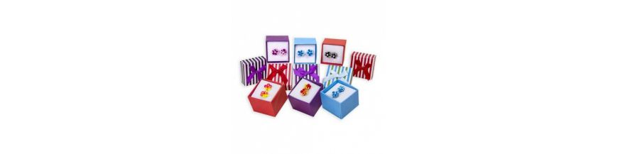 Packs pendientes, anillos y broches para niña