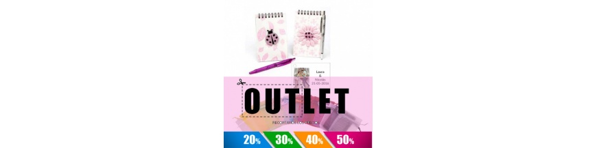 Bodas Outlet Packs Libretas y Estuches Niña