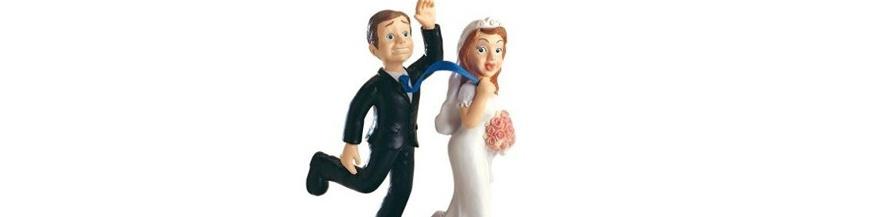 Figuras tartas boda