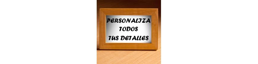 Personaliza detalles empresa