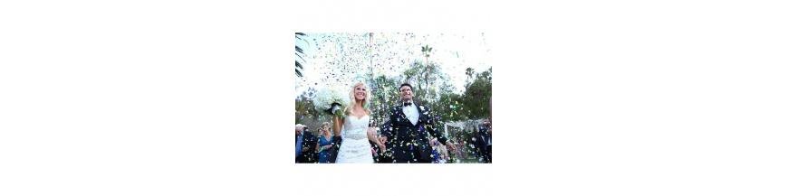 Confetti y serpentina complementos ceremonia
